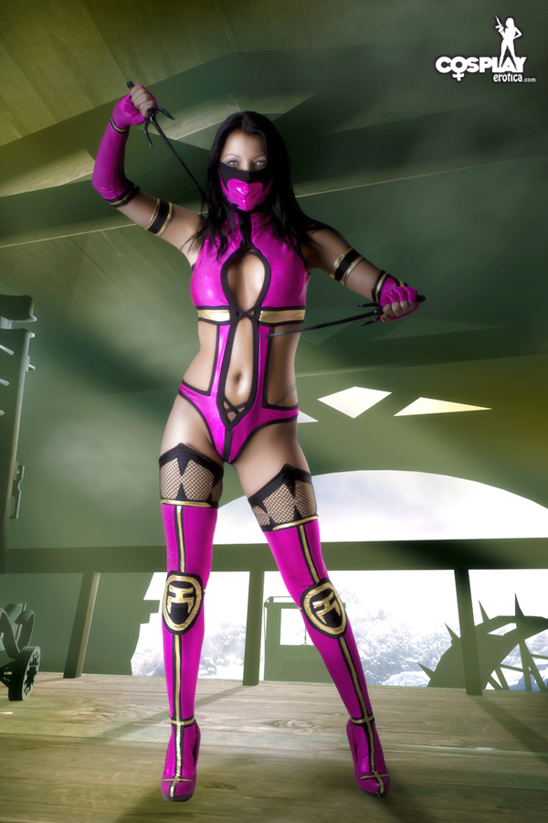 Mileena preview for the weekend by cosplayerotica
