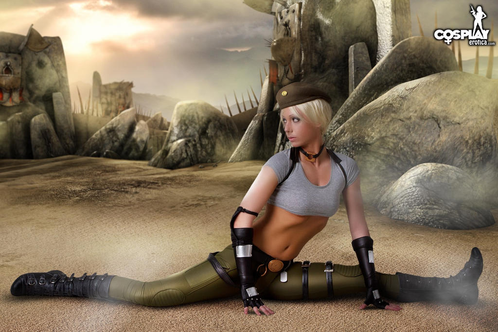 Sonya Blade by cosplayerotica