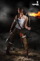 Lara Croft (2013 version) by cosplayerotica