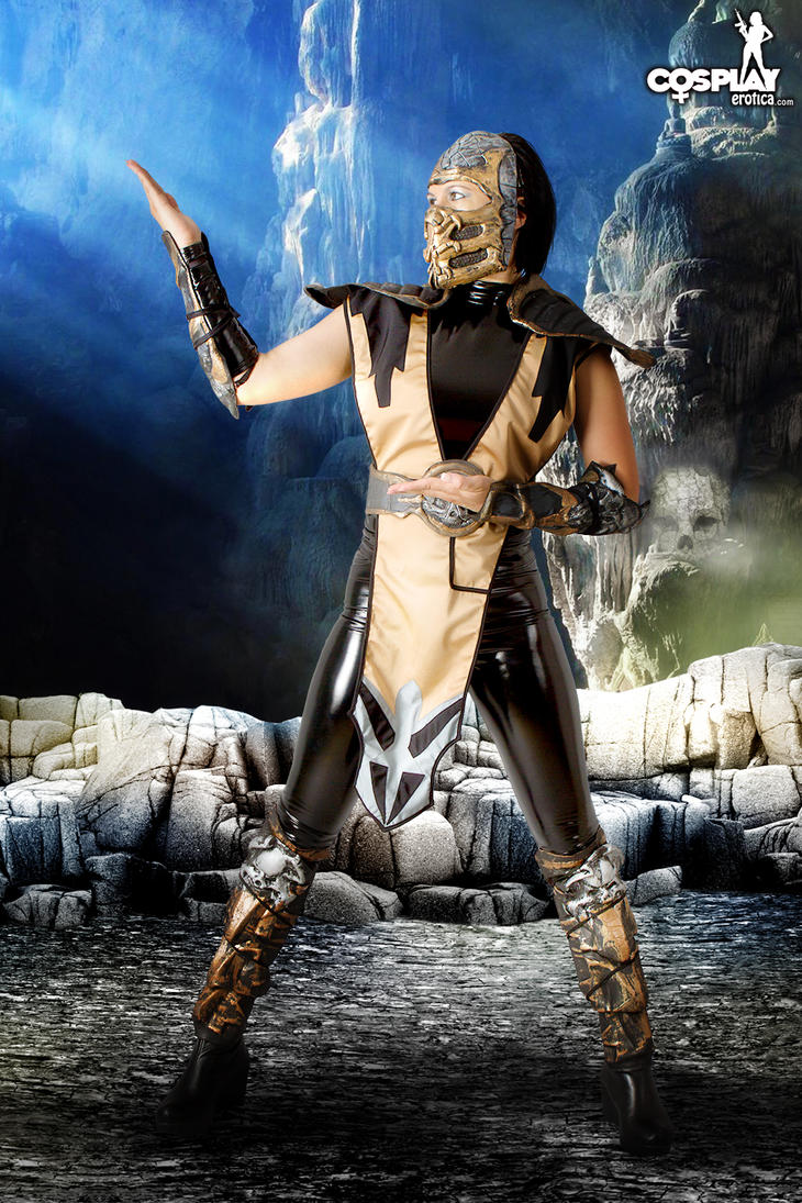 Scorpion female version:) by cosplayerotica