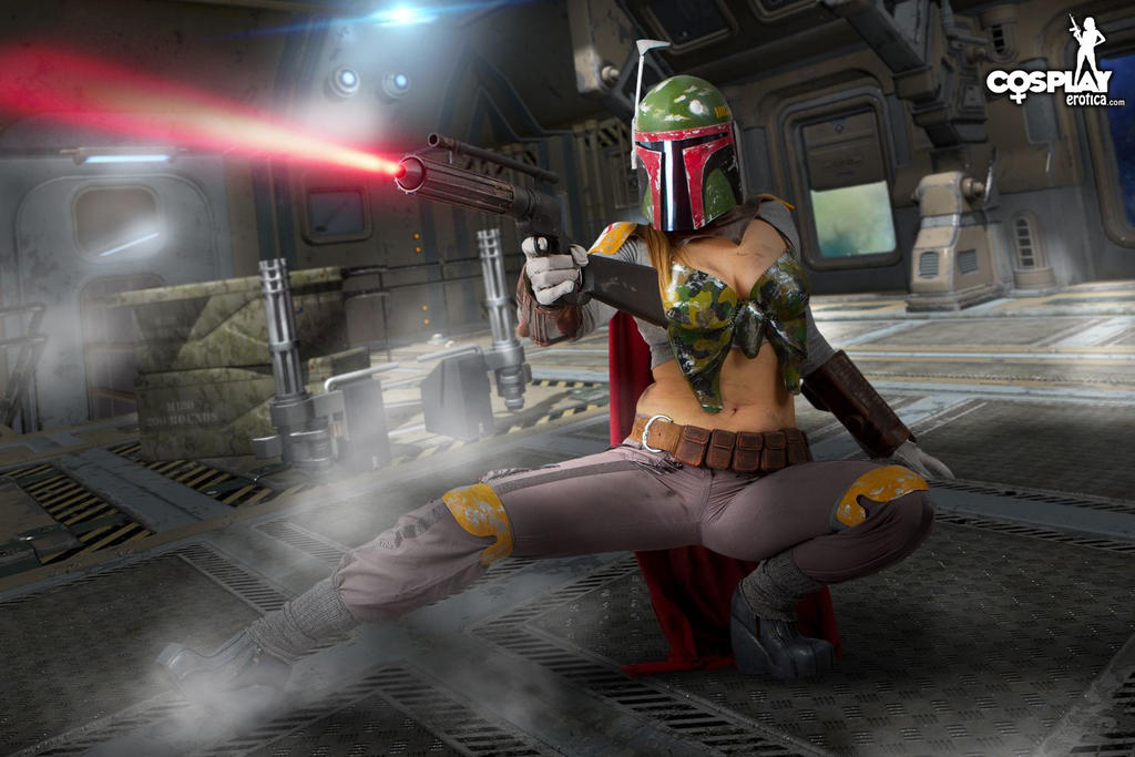 Female Boba Fett goes wild rule63 as it's best:) by cosplayerotica
