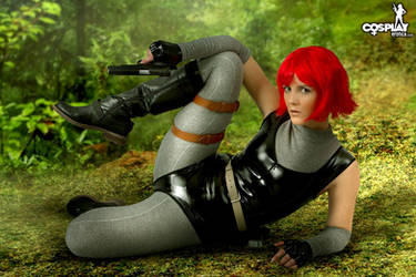 Dino Crysis Sexy version by cosplayerotica