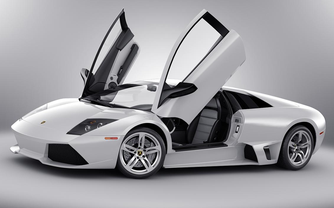 Lambo Doors Opening Arab Lamborghini Aventador Driving With Doors
