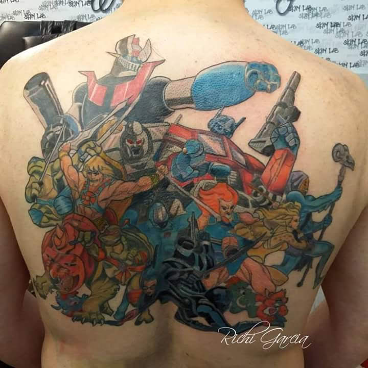 Totally 80's Tattoo by Kyan-Uto