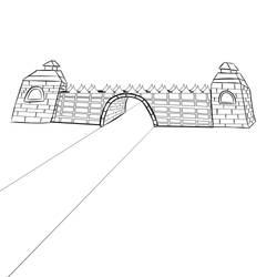 Entrance (basic line work) by PaladinEntertainment