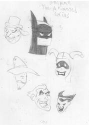 batman the animated series style test. by PaladinEntertainment