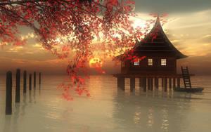 Evening calm by 38DDmisswhiplash