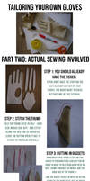 Gloves Tutorial: Part II, Sewing