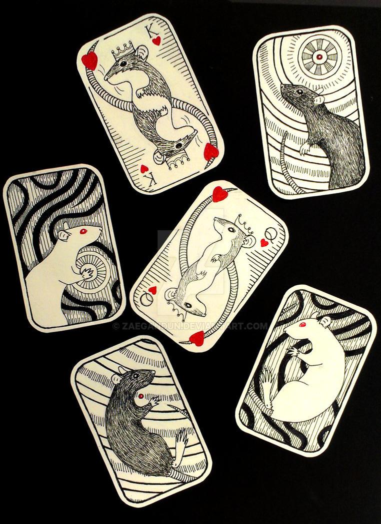 Rat Cards by Zaegandun