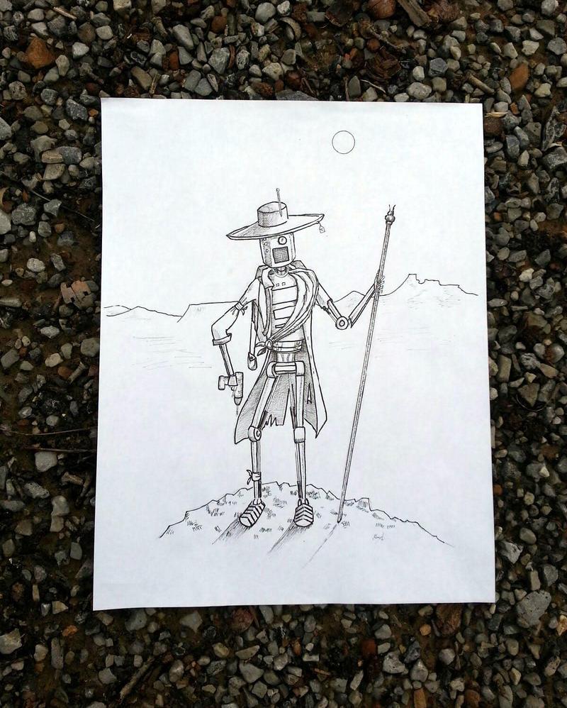 The Wanderer by Zaegandun