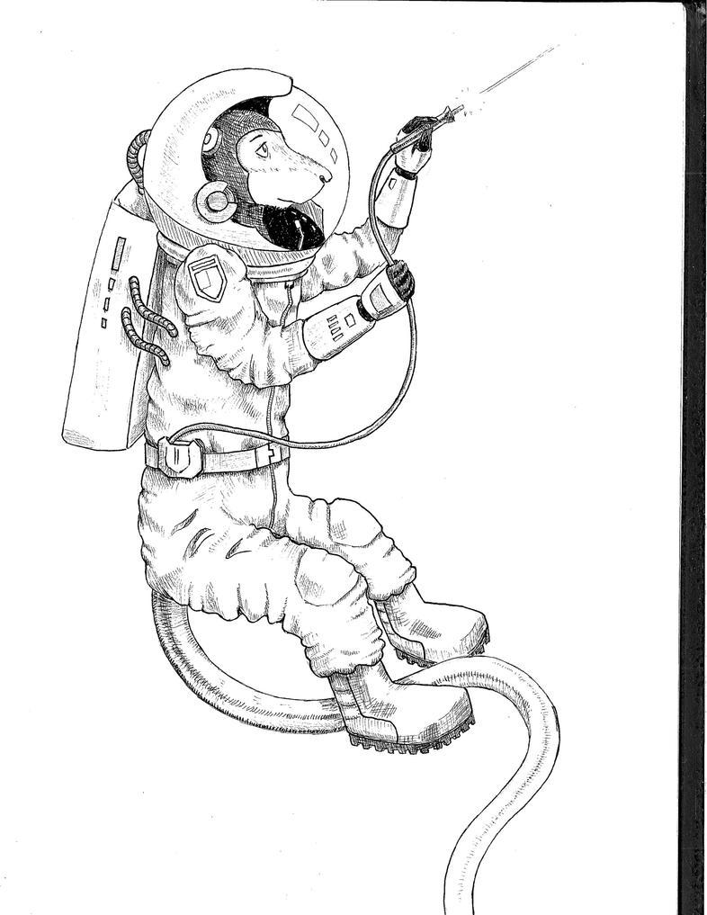Astrorat by Zaegandun