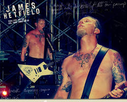 James Hetfield Shirtless by agnesvanharper