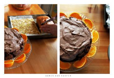 Chocolate Mousse Cake by agnesvanharper