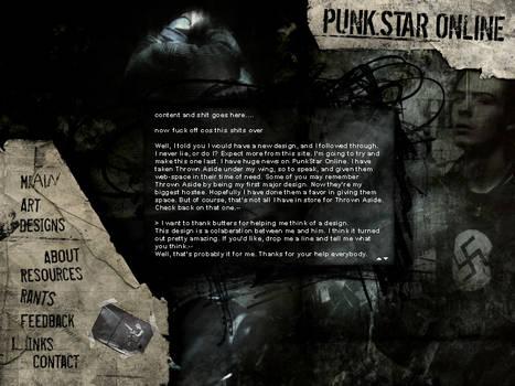 Punk Star Online Design