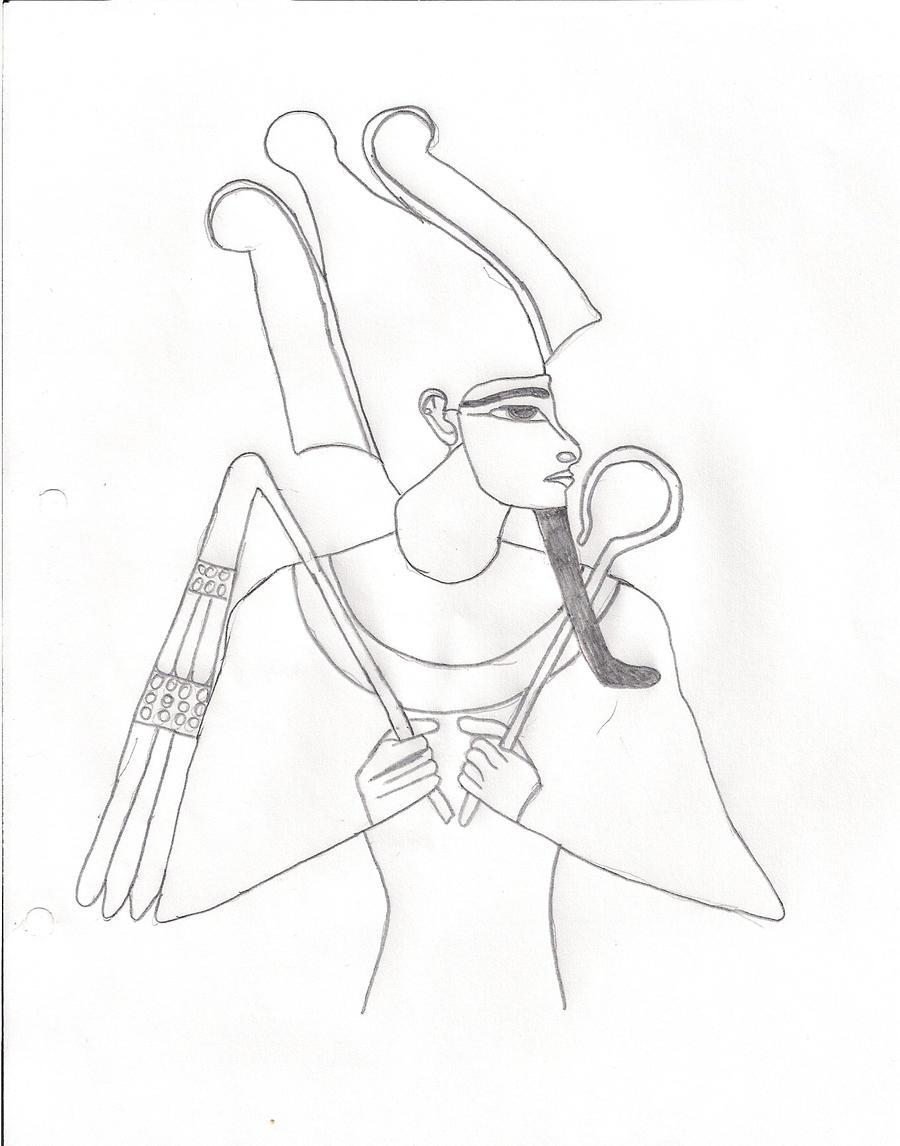 Osiris by Garymann on DeviantArt