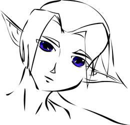Adult Link doodle