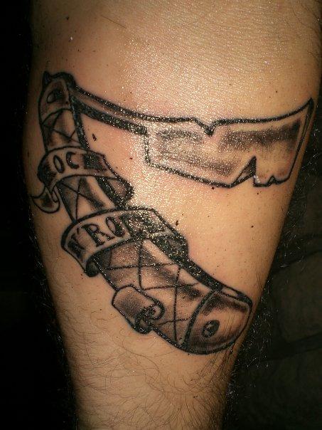 sweeney todd rockabilly tattoo by SailorStrumkowski on deviantART