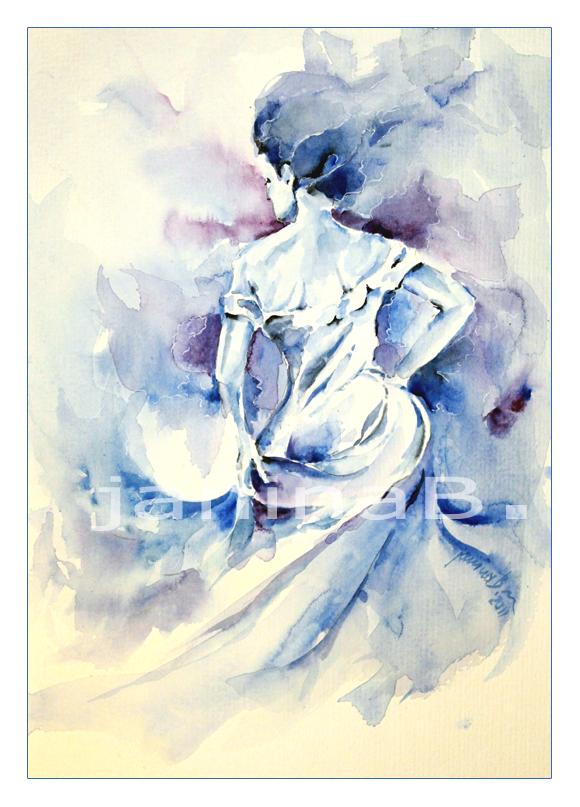 blue dance by janipabel