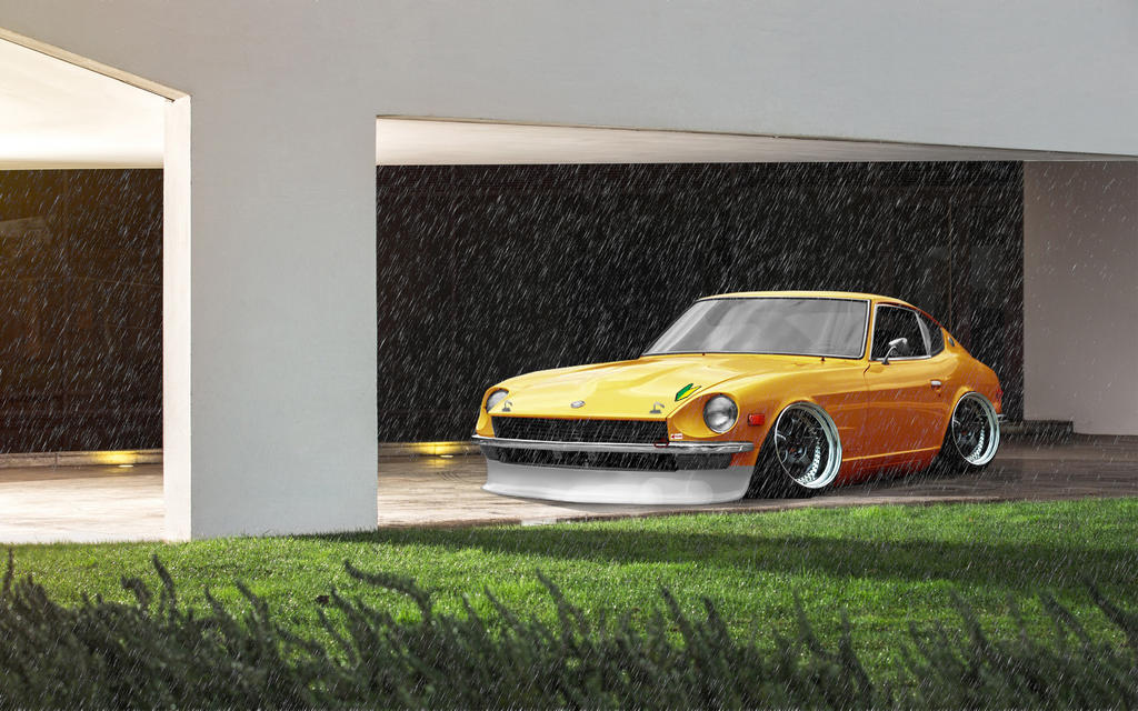 datsun 240z jdm virtual tuning by raph10 on deviantart. Black Bedroom Furniture Sets. Home Design Ideas