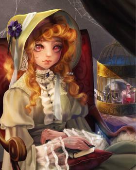 -Midnight Study- by Sully-Evilyan