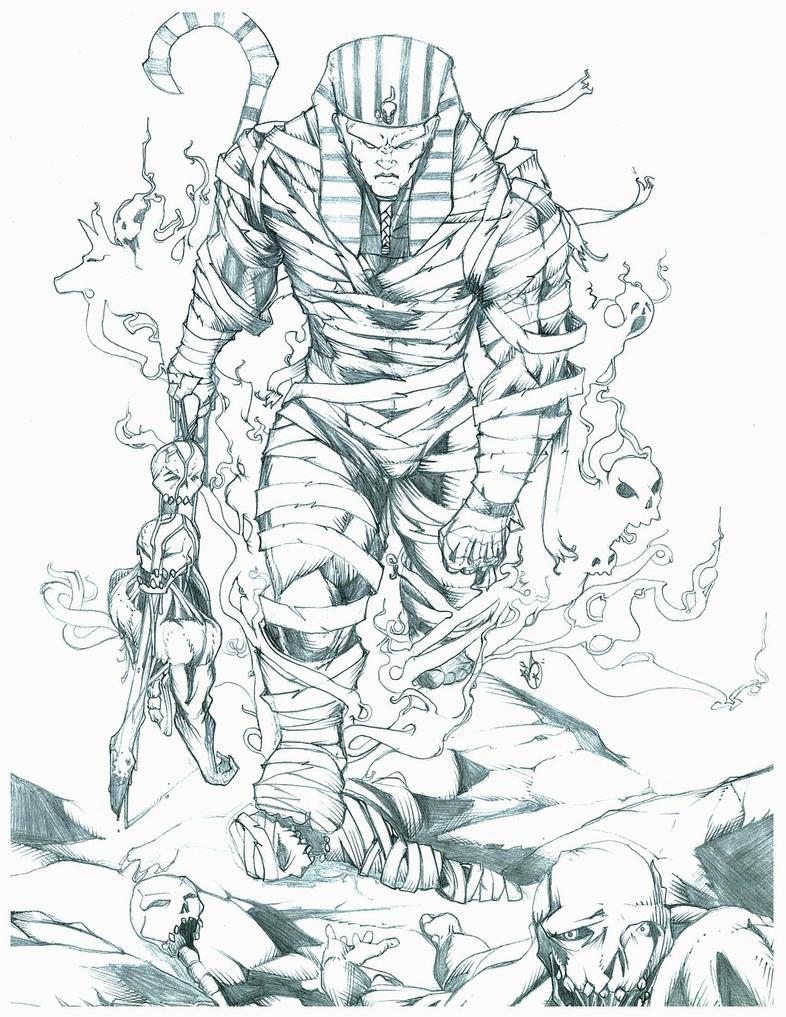 Osiris Drawing | www.imgkid.com - The Image Kid Has It!