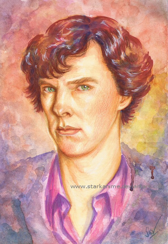 Sherlock - Benedict Cumberbatch by starkanime