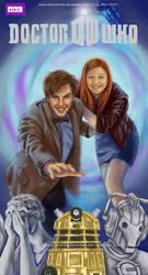 Doctor Who Friend Art by starkanime