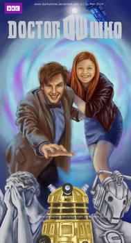 Doctor Who Friend Art