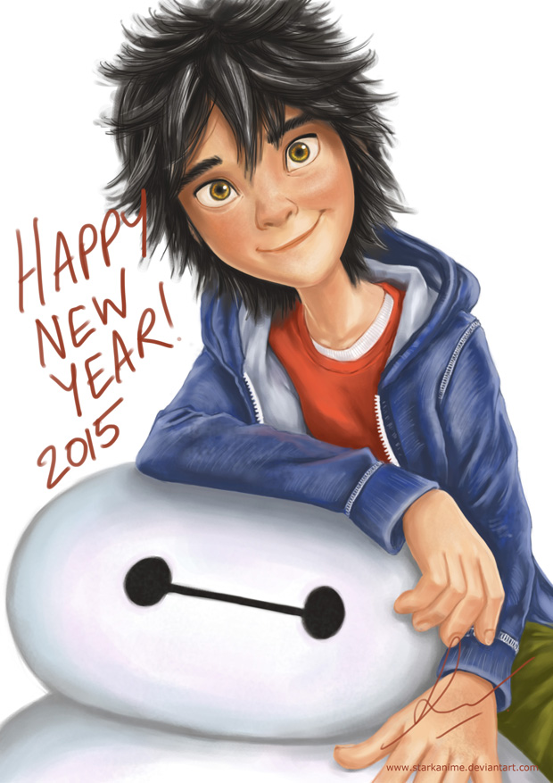 Big Hero New Year by starkanime