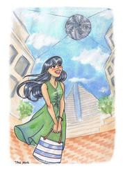 Sketchbook: Civic Square by starkanime