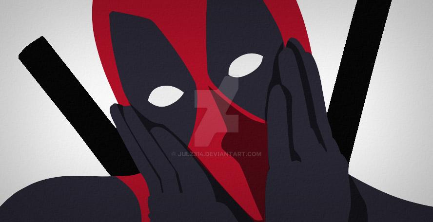 Deadpool Minimalist By Julz314 On Deviantart