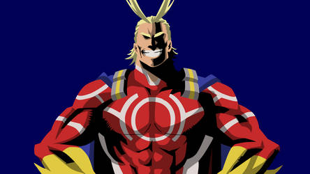 My Hero Academia - All Might by julz314