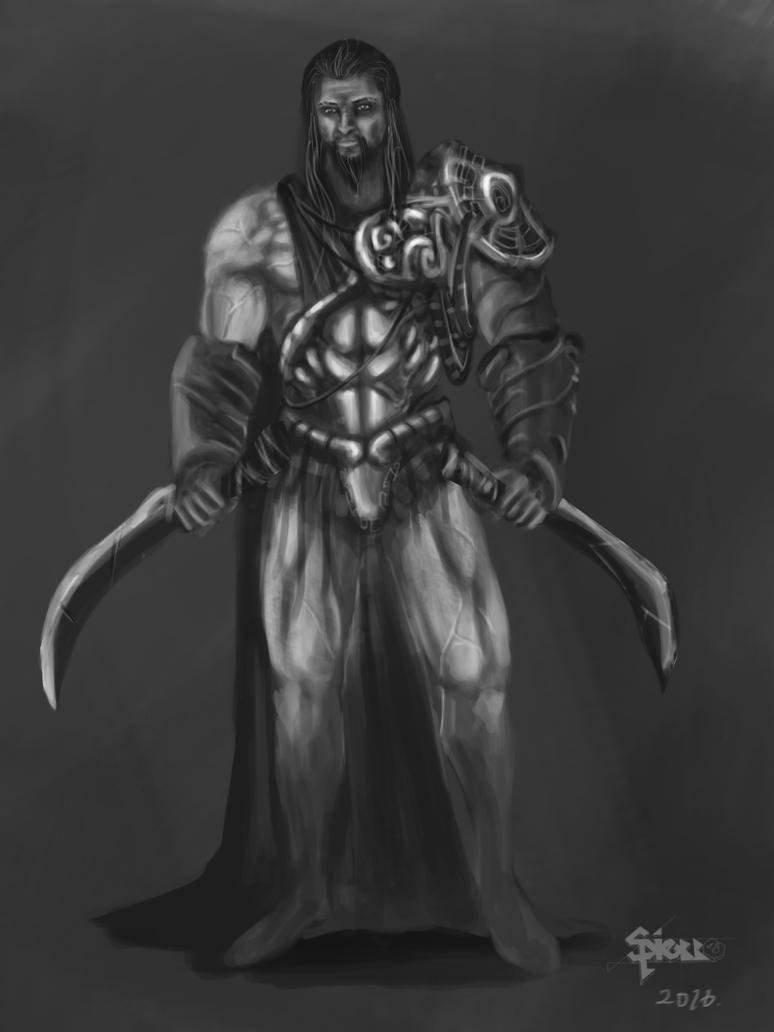 Forgotten Swordsman by Shawnold