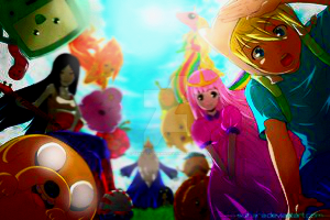 Adventure Time (my way of seeing this) by TenagandDawn