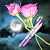 Roses and Moon Icon - 5.4.13 by SolarLunix