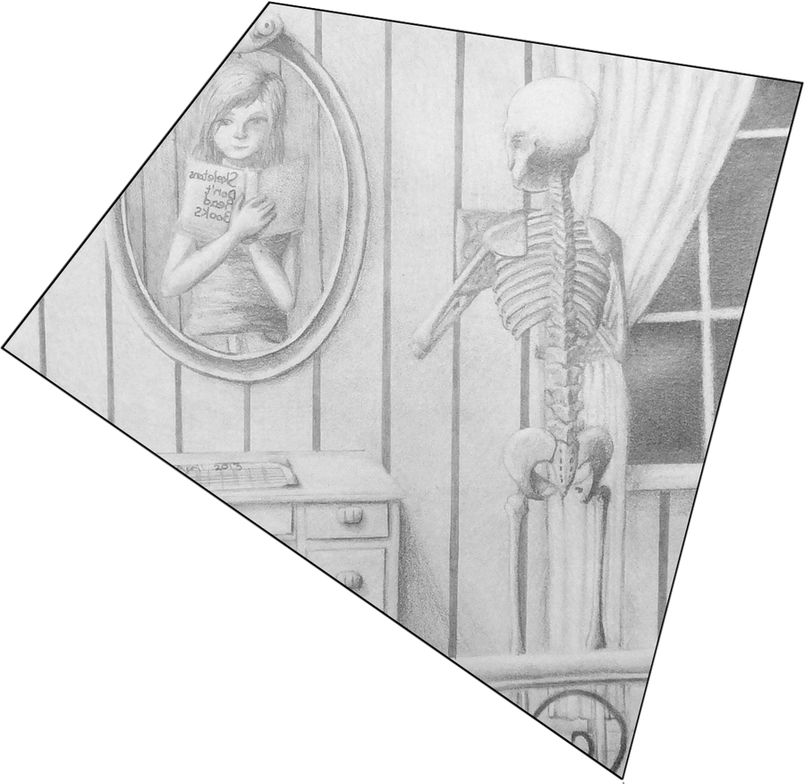 Skeletons don't read books by SolarLunix