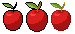 Apples - Various outlines by SolarLunix