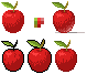 Textured Apples by SolarLunix