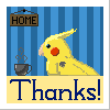 Pixel-ated Thanks by SolarLunix