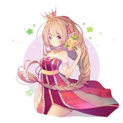 Spoiled Princess by birdyblu