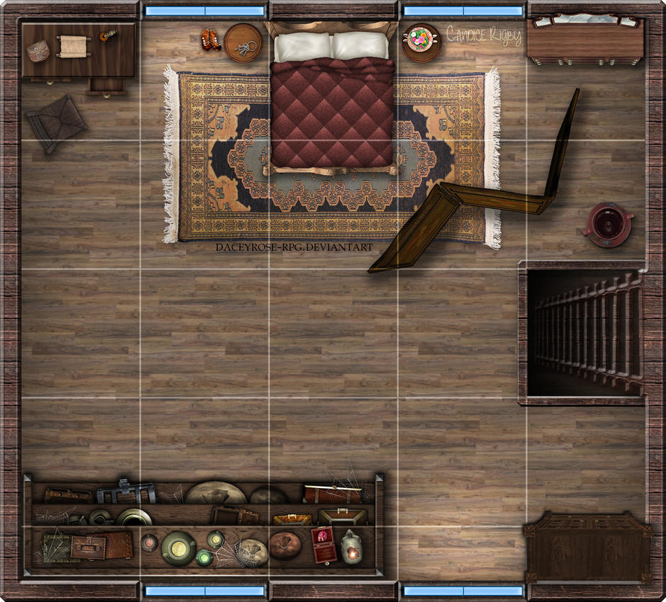 Small tavern 2nd floor by house velovasse on deviantart for Floor 2 dungeon map
