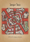 Dread Ziggurat dungeon map CC-BY-SA-version
