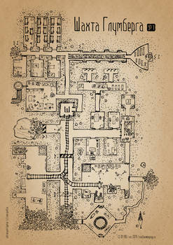 Gloomberg mine map, lvl.1