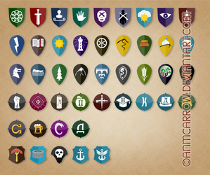 Factions of Empire of Rain