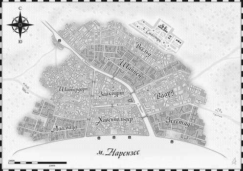 Map of Saint-Claudia city