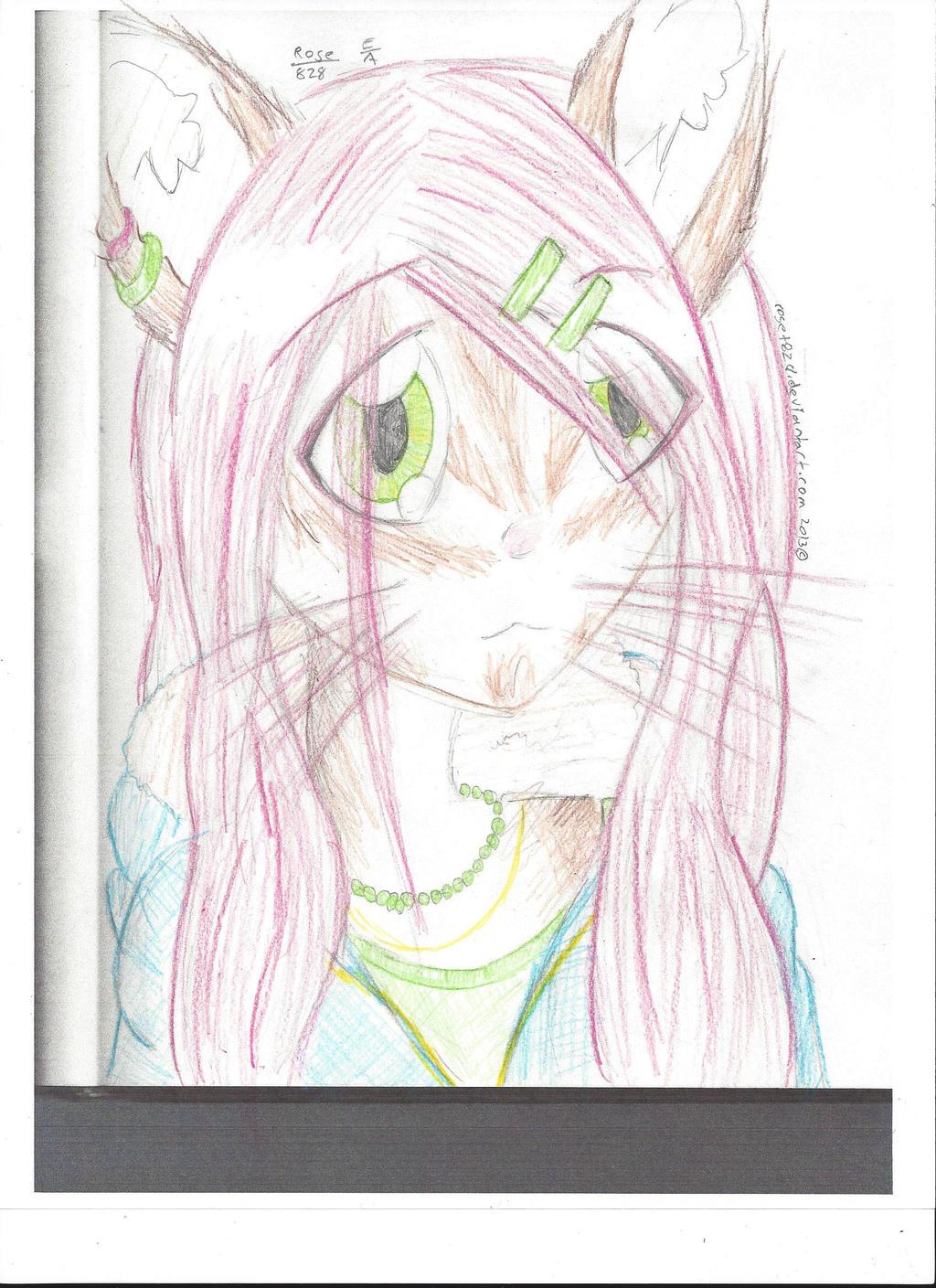 Portrait of Jenny by XxRoset-828xX