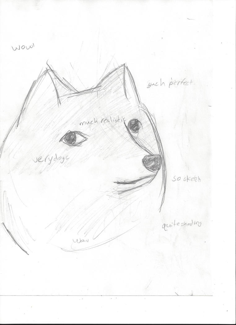 so doge.    very sketch. wow by XxRoset-828xX
