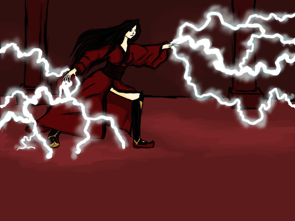 Lightning bender by XxRoset-828xX