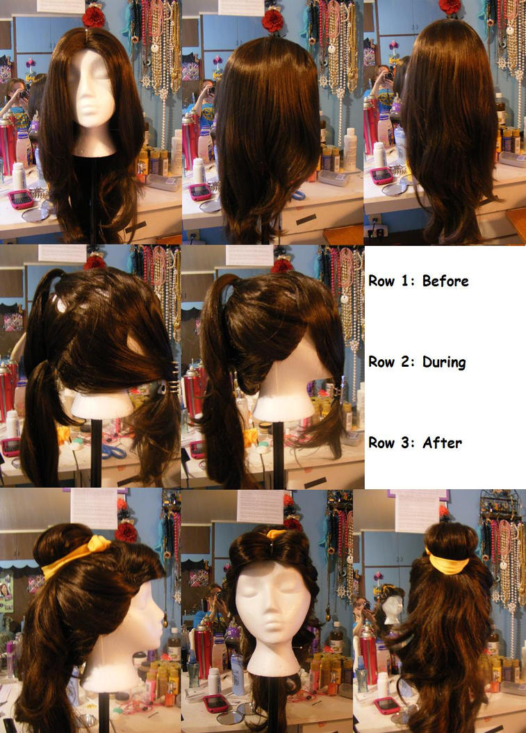Formal Belle Wig Styling by senior007