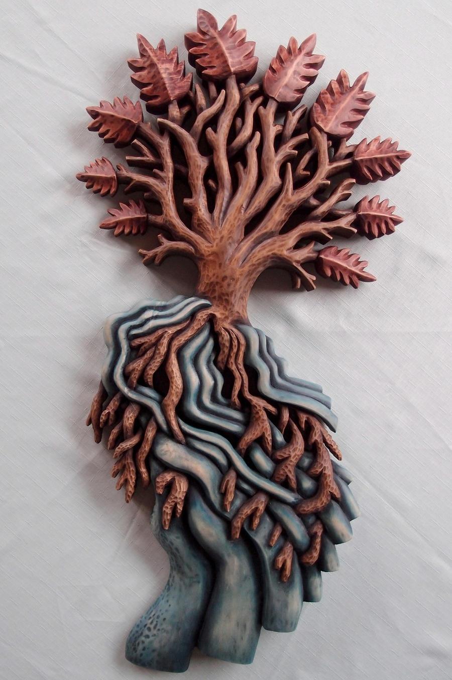 Yggdrasil by Ljotunnr